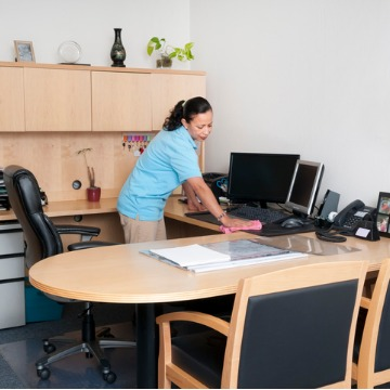 Woman providing professional Cleaning Services in East Peoria IL
